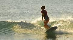 AMY REDA (Tim Hanson-) Tags: ocean beach water sport sand women surf waves pacific surfer contest competition surfing malibu professional pacificocean longboard surfriderbeach missmalibupro outsideseaside