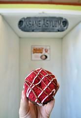 Raspberry Road Rash (jpellgen) Tags: psycho psychodonuts donut donuts doughnuts doughnut sanjose california ca cali westcoast bayarea travel nikon sigma 1770mm 2016 september usa america food
