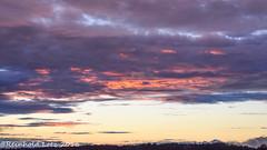 Fire in the sky (Reinhold.Lotz [too busy]) Tags: sonnenuntergang wolken landschaften kirtorf hessen deutschland de