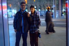 Ian & Nico (Ian Muttoo) Tags: dsc72511edit toronto ontario canada gimp ufraw nuitblanche 2016 nuitblanche2016 nbto16 street night motionblur