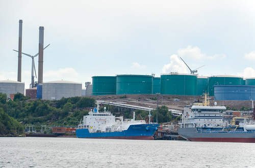 Sjöbol oil terminal, Sweden
