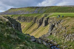 High Cup Gill and High Cup Nick on the Pennine Way in Cumbria (neilsimpson515) Tags: highcupnick cumbria geology ushapedvalley glacial dolerite sill whinsill nikon nikond800e nikon2470 doleritesill