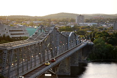 Alexandra Bridge (Marcanadian) Tags: nepean point lookout view river alexandra bridge ottawa canada ontario capital 2016 building architecture