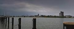 Stormy weather (jopperbok) Tags: jopperbok water ijssel kampen zc37 river skyline sky light