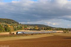 En voyage au couleurs d'automne (pierre141f282) Tags: intercites 1842 vesoul paris est cc 72100 72000 72121 en voyage cc72000
