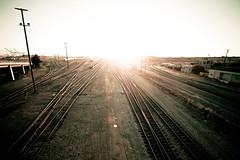 Diamonds Are Rust (Thomas Hawk) Tags: california eastbay oakland pandoraphotowalk usa unitedstates unitedstatesofamerica photowalking photowalking070709 photowalking07092009 traintracks fav10 fav25 fav50 fav100