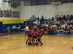 "Volleyball Playoff Game at Lewisville HS • <a style=""font-size:0.8em;"" href=""http://www.flickr.com/photos/137360560@N02/29968081584/"" target=""_blank"">View on Flickr</a>"