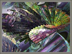 TW revisited (bloorose-thanks 4 all the faves!!) Tags: bryce render digital art abstract reflections richwarner tumbleworld crazygeniuses