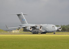 01 F-207SAC-1 CN 50208 NATO C17 Raf Leeming oct 2016 ....... (judgeimages) Tags: the strategic airlift capability sac concept originated nato hq mid2006 officials national representatives envisaged partnered solution that would satisfy need for member states without economic resources field permanent originally this idea was called nsac in october 2006 first nonnato nation joined initiative changed its name moved outside alliance