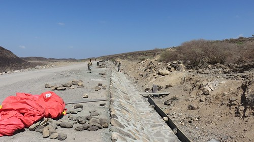 Djibouti_2015 - Route Tadjourah-Balho en construction