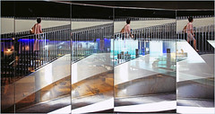 Sous le Metropol Parasol, Sevilla, Andalucia, Espana (claude lina) Tags: claudelina ville town city espana spain espagne andalucia andalousie architecture sevilla sville metropolparasol miroir mirror reflets reflections