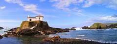 Capilla del Porto (Meirs - Valdovio - A Corua - Galicia - Espaa) (Mara Grandal) Tags: capilla meirs valdovio corua galicia espaa europa mar canonpowershotsx210is ermita