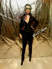 opium ayumi (krixxxmonroe) Tags: ira d ryan photography krixx monroe styling fashion royalty nu face fr2 opium ayumi black brocade suit by the vogue hong kong