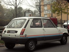 Renault 5 1.0 TL St. Tropez 1982 (LorenzoSSC) Tags: renault 5 10 tl sttropez 1982