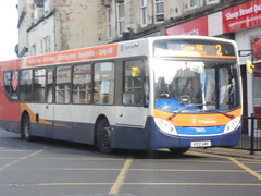 Stagecoach 28625 KX12 AMK (Alex Swanston's Bus Photos) Tags: outdoor northampton bus vehicle road stagecoach stagecoachinnorthampton stagecoachmidlandred dennisenviro300 e300 enviro300 scania route2 route2branding 28625 kx12amk