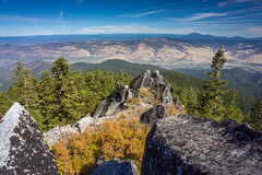 Scenic Overlook (Tom Fenske Photography) Tags: ashland wagnerbutte oregon mountain wilderness nature hiking klamathnationalforest