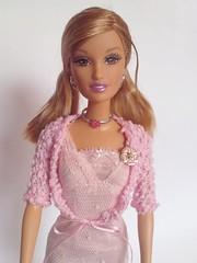 Lara Fahion Fever (Sara.C~) Tags: barbie collector playline label pink black gold doll dolls fashion fever lara drew