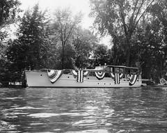 P-55-Ia-088 (neenahhistoricalsociety) Tags: parades boats foxriver shattuck pilgrim