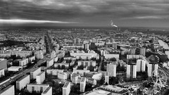 east (kadircelep) Tags: berlin cityscape architecture east europe building winter monochrome urbanplanning view landscape cityview