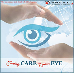 To Protect & Cure your eye from eye diseases is our duty..! (bhartieye) Tags: bharti eye eyecare delhi refractive retina services treatment care asthetics surgery phacoemulsification cataract lasik