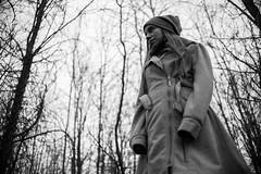 b&w (nano_el) Tags: bw blanconegro woods bosque forest she ella arbol tree nikkor nikon 35mm 18g d750 dx lowlight naturallight