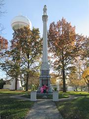 Monument At Stillman Valley il (waynemegaman) Tags: stillmanvalleyil stillmansrun oglecountyil memorial military militia blackhawkwar 1832 abelincoln