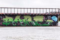 (Bergolli) Tags: graffitimyyryork piece spray can art street photo urban vantaa helsinki hiphop documenting paint fame style rare
