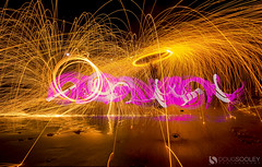 Light Paint & Pixelstick (dougsooley) Tags: light lightpainting lightpaint lightpaintingphotography steelwool steelwoolphotography steelwoolspinning dougsooley canon canon1dx canonlenses canonlens california cali lajolla lajollashores thepixelstick pixelpainting pixelstick abstract lightporn