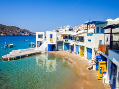 Firopotamos (Manolis Kalyvianakis) Tags: firopotamos milos cyclades greece visitgreece island summer village sea colors colorfull sky beach