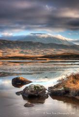 Beinn Achaladair from Loch Ba (silverlarynx) Tags: scotland achaladair beinn mountain loch ba rannoch moor evening