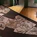 Roma. Musei Capitolini-Centrale Montemartini. Statua della Musa Polimnia e mosaico con scene di caccia