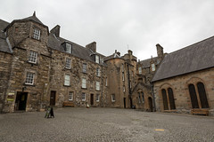 Stirling Castle - King's Old Building (IceNineJon) Tags: kingsoldbuilding scotland regimentalmuseum stirlingshire stirlingcastle greatbritain stirling photography canon5dmarkiii europe innerclose unitedkingdom 5dm3 britain uk castle courtyard