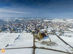 Rmerstein - Bhringen (michab100) Tags: mib mibfoto michab100 dji luftaufnahmen luftbild schwbischealb landschaft landscape snow schnee rmerstein b28