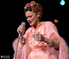 Andra Day @ Showbox at the Market (Kirk Stauffer) Tags: kirk stauffer photographer nikon d5 adorable amazing attractive awesome beautiful beauty charming cute darling fabulous feminine glamour glamorous goddess gorgeous lovable lovely perfect petite precious pretty siren stunning sweet wonderful young female girl lady woman women live music tour concert show stage gig song sing singer singing vocals vocalist perform performer musician band indie soul rb blues long brown hair brunette eyes red lips model tall short fashion style pink portrait photo smile smiling