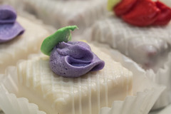 Sweet tooth (Irina1010) Tags: petitfour littlecakes desert white icing food sweettooth canon sweets