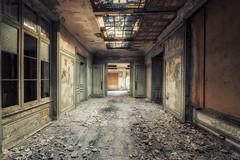 Wandering (Yann PESIN) Tags: urbex urban urbexing exploration decay oblivion path urbaine oubli ruine abandoned places exploring