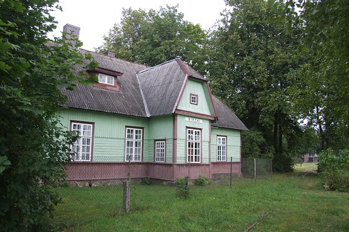 Former Biržai narrow-gauge railway station, 10.08.2013.