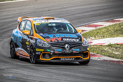 Like a knife (Blitserbeeld) Tags: blitserbeeld car motorsports drive renault clio cup cpz circuitparkzandvoort racecar cliocup trackcar drivingfun dkoster koster