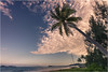 Sunset @ Mission Beach - QLD Australia (Pascal Reiter) Tags: ngc sunset sonnenuntergang missionbeach australia australien palmen clouds wolken beach strand farbenpracht