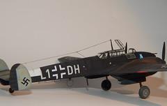 Bf110 (5) (mcjaffa) Tags: messerschmitt bf110 me110 eduard 7081 scalemodel 172 profipack bf100cd l1dh 1jnjg3