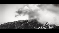 """Vue du gites """"Les Oisillons"""" @La Fclaz BW Cinmatic (Fofinho Onimura) Tags: montagne savoie france nuage noir et blanc"""
