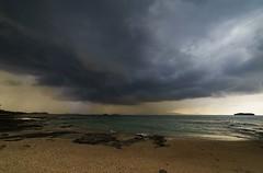 DSC00605 (Licran) Tags: mayotte sea cloud sky water island beach boat sand mer nuage ciel plage sable bateau trombe