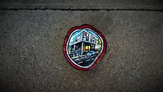 Ben Wilson / St-Pietersneiuwstraat - 28 nov 2016 (Ferdinand 'Ferre' Feys) Tags: gent ghent gand belgium belgique belgi streetart artdelarue graffitiart graffiti graff urbanart urbanarte arteurbano chewinggum