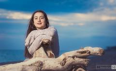 Irene (kanjungla) Tags: kanjungla posado modelo femenina playa invierno