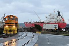 Land to Sea (Mk) Tags: train choochoo orisitchugchug