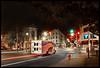 Devil Dogs @ Five Corners - Jersey City, NJ  (2009) (Ebanator) Tags: fivecorners fivecornersjerseycity jerseycity jerseycitynj newjersey nj nightphotography street streetcorners streetphotography deliverytruck deliveryvan drakescakes devildogs nikond70s nikkoraf1870mm