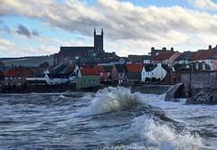 Rough seas at Dunbar, Scotland (Baz Richardson (catching up again!)) Tags: scotland dunbar roughseas coast breakers seaside northsea