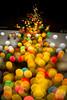 abundant crop - 豊作 (turntable00000) Tags: extrabokeh night light christmas illumination trees fruits urban nightscape cityscape nightview holiday takashimaya shinjuku tokyo