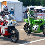 Ron Chandler (100_BSA 750 Rocket 3, 1969) & Pierre-Yves Deschamps (113_Kawasaki 750 H2R, 1972) thumbnail