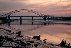 Mersey Sunset (28 of 28) (andyyoung37) Tags: sunset silhouette reflections mersey runcorn runcornbridge greatsky